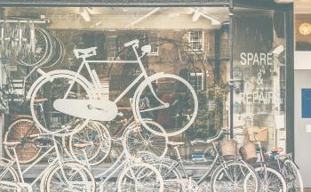 スポーツ用品店 自転車店