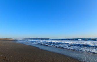 千葉県 風景(砂浜)