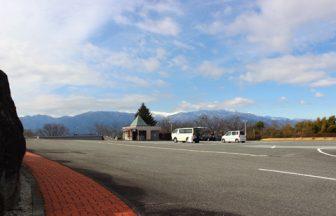 関東 サービスエリア風駐車場