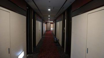 ホテル通路